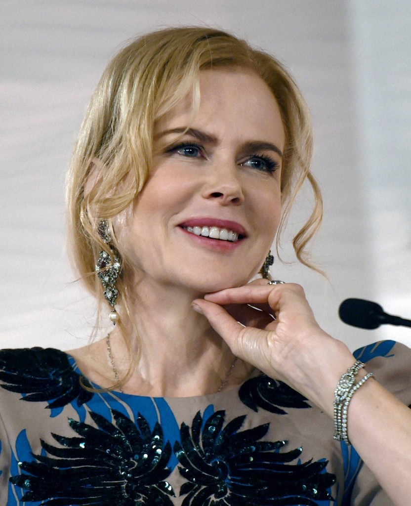 NICOLE KIDMAN ON NEVER GIVING UP